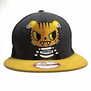 TokiDoki TKDK Royal Pride Hunter Snapback Hat RARE